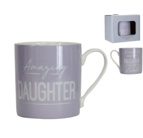 Gisela Graham - Boxed Sentiment Mug - Daughter (31635)