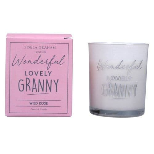 Gisela Graham - Mini Scented Candle - Wonderful Granny (50865)