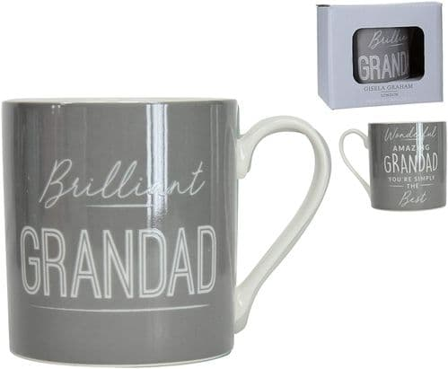 Gisela Graham - Sentiment Mug - Grandad (31631)