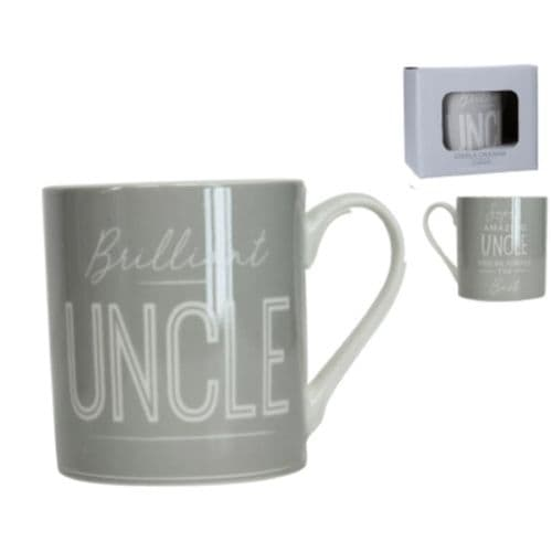 Gisela Graham - Sentiment Mug - Uncle (31633)