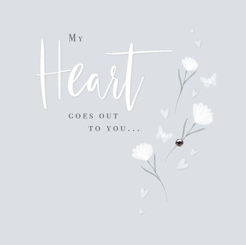 Handcrafted - Affinity - My Heart Goes Out To You Card