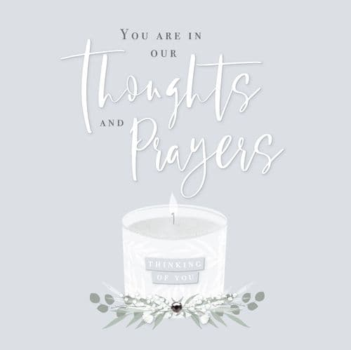 Handcrafted - Affinity - You Are In Our Thoughts - Card