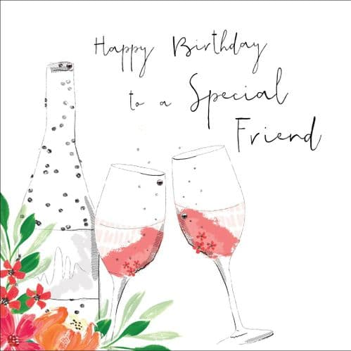 Handcrafted - Hedgerow - Happy Birthday Special Friend
