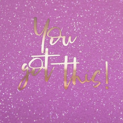Handcrafted - Limelight - You Got This - Card