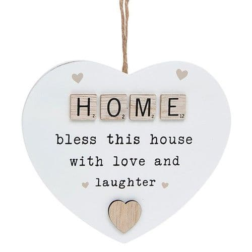 Hanging Scrabble  Decoration - Home (879)