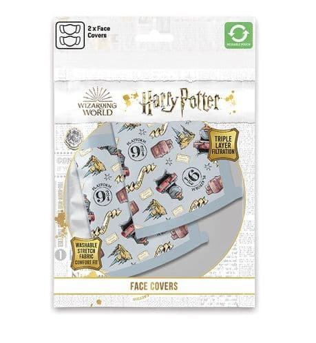 Harry Potter - Face Covering - 2 Pack