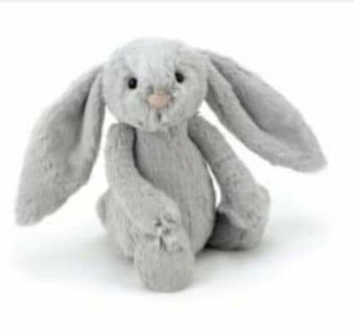 Jellycat - Bashful SIlver Bunny Medium