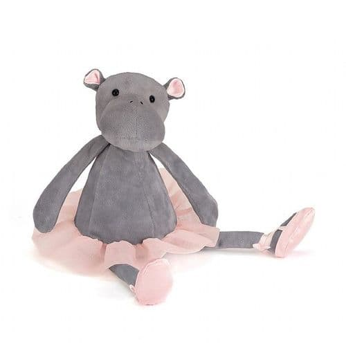 Jellycat - Dancing Darcy Hippo - Medium