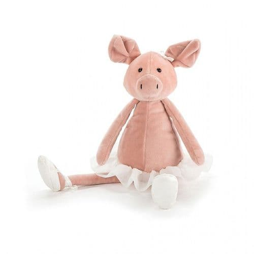 Jellycat - Dancing Darcy Pig  - Medium