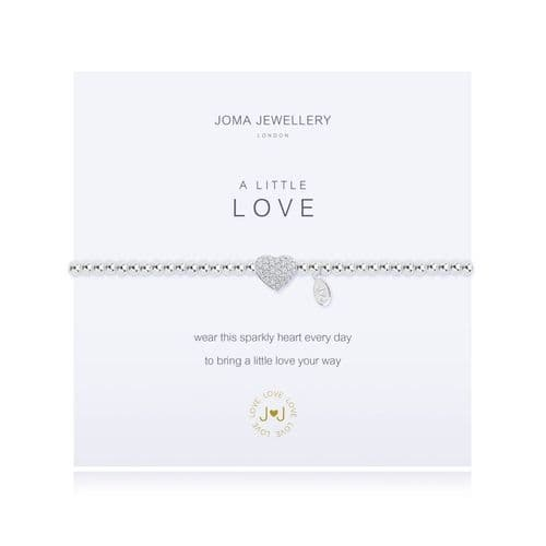Joma -  A Little Love bracelet (sparkle)