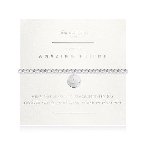 Joma Jewellery - A Little Amazing Friend (faceted)