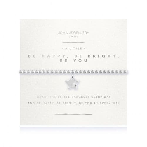 Joma Jewellery - A Little - Be Happy Be Bright Be You Bracelet