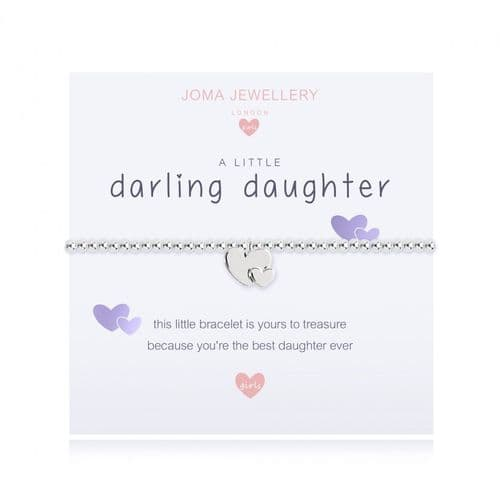 Joma Jewellery - A Little Children's Darling Daughter Bracelet