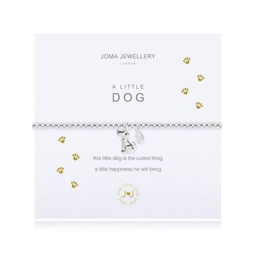 Joma Jewellery - A Little - Dog - Bracelet