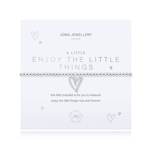 Joma Jewellery - A Little - Enjoy The Little Things Bracelet