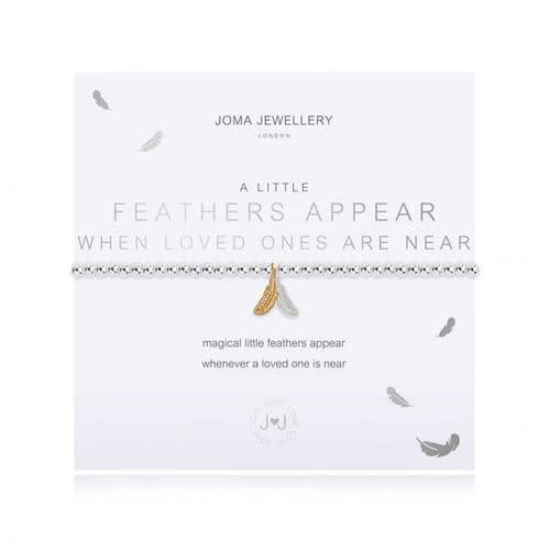 Joma Jewellery - A Little Feathers Appear When Angels Are Near Bracelet 3801