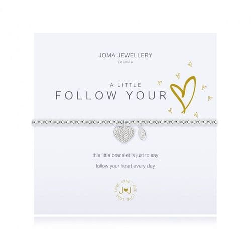 Joma Jewellery -A Little Follow Your Heart Bracelet