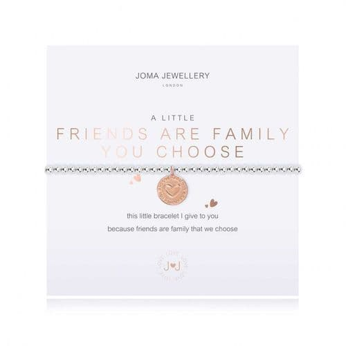 Joma Jewellery - A Little Friends Are The Family We Choose