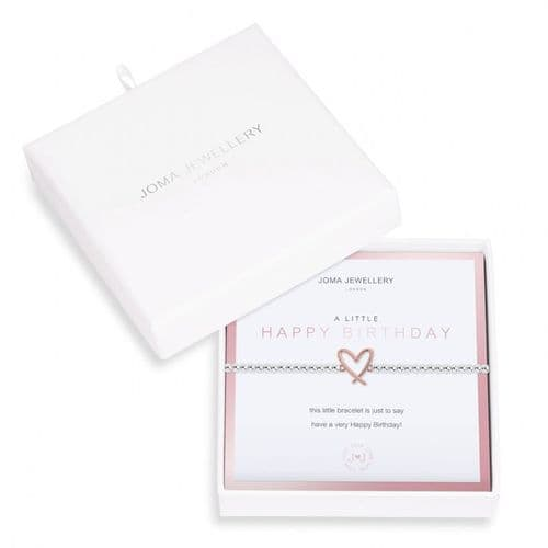 Joma Jewellery - A Little Gift Boxed Happy Birthday