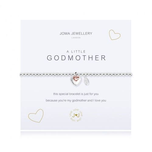 Joma Jewellery - A Little Godmother Bracelet