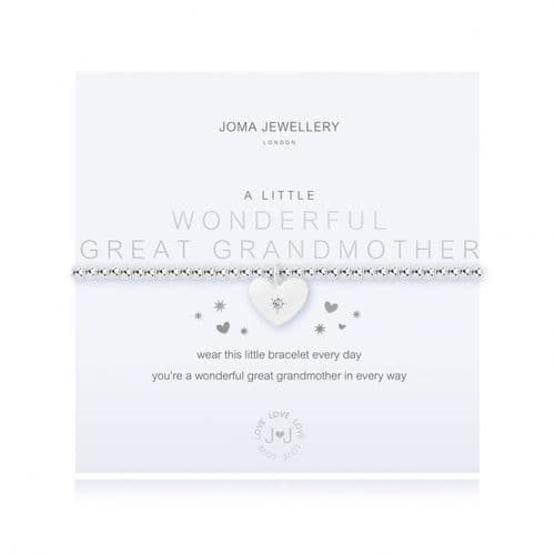 Joma Jewellery - A Little - Great Grandmother Bracelet