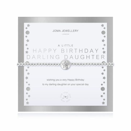 Joma Jewellery - A Little Happy Birthday Darling Daughter