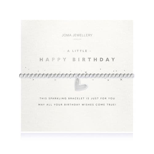 Joma Jewellery - A Little Happy Birthday Faceted