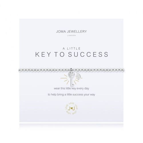 Joma Jewellery - A  Little Key To Success Bracelet