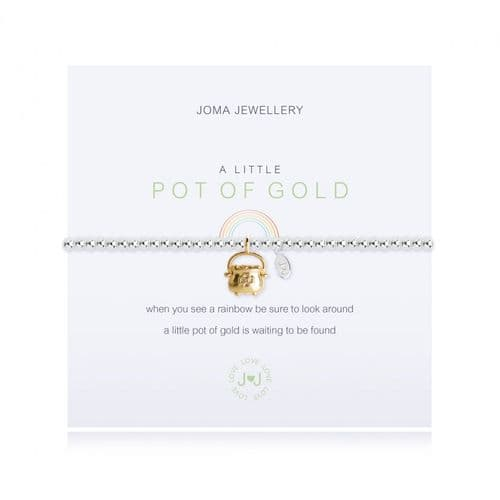 Joma Jewellery - A Little Pot Of Gold Bracelet