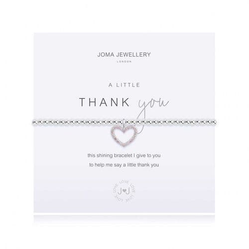 Joma Jewellery - A Little - Thank You Bracelet