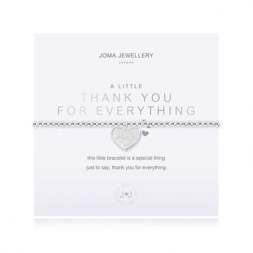 Joma Jewellery - A Little Thank You For Everything Bracelet