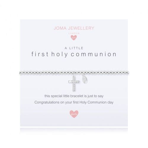 Joma Jewellery  - Children's A Little First Holy Communion Bracelet