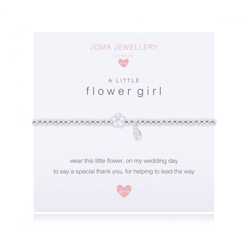 Joma Jewellery - Children's A Little Flower Girl Bracelet