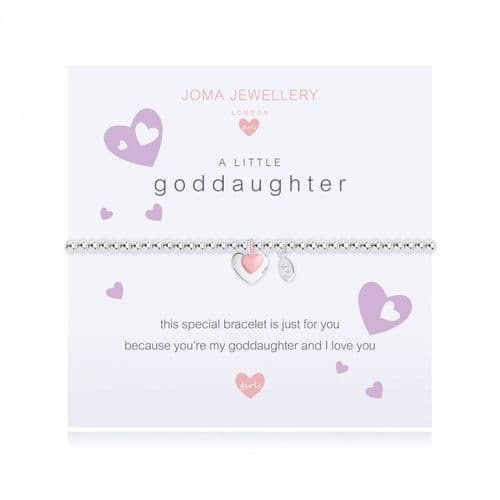 Joma Jewellery - Children's A Little Goddaughter Bracelet
