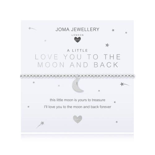 Joma Jewellery - Children's Love You To The Moon & Back Bracelet