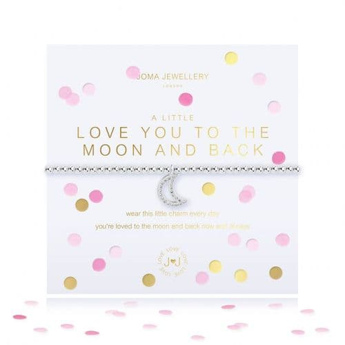 Joma Jewellery - Confetti A Little Love You To The Moon And Back