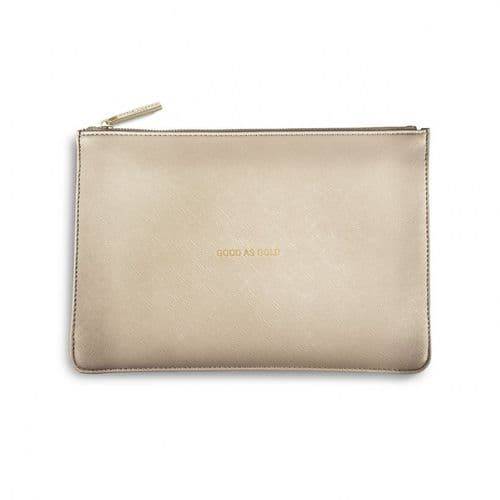 Katie Loxton - Good As Gold Pouch (B041)