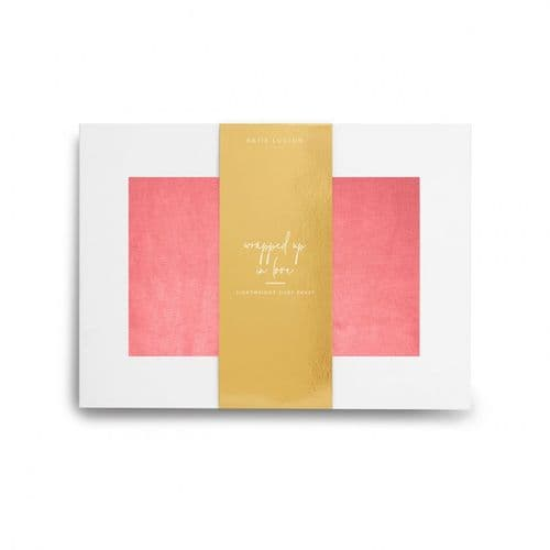 Katie Loxton - Wrapped Up In Love Boxed Scarf - Coral