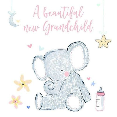 Katie Phythian  - Beautiful New Grandchild Card