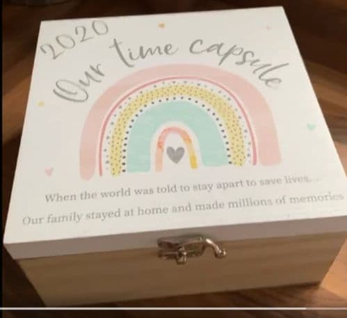 Langs - 2020 Time Capsule Memory Box