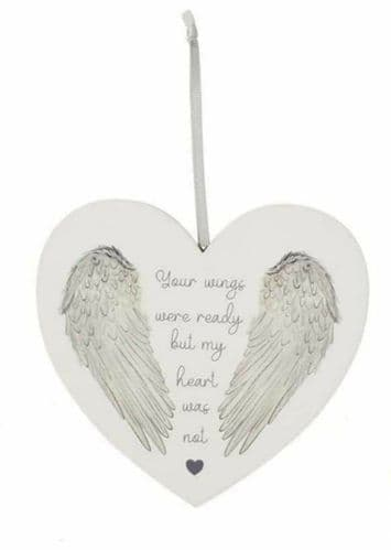 Langs - Angel Wing Heart  - Your wings were ready