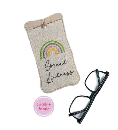 Langs - Fabric Glasses Case - Kindness