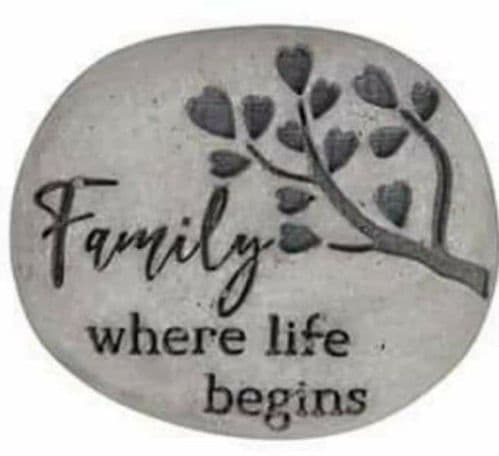 Langs - Family Pebble -  Where Life Begins