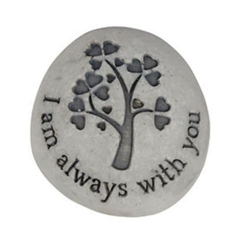 Langs - Family Tree Pebble - I Am Always With You