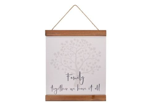 Langs -Family Tree Together Plaque