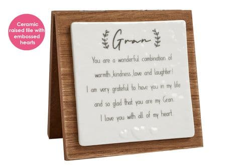 Langs - Forever Folding Plaque - Gran