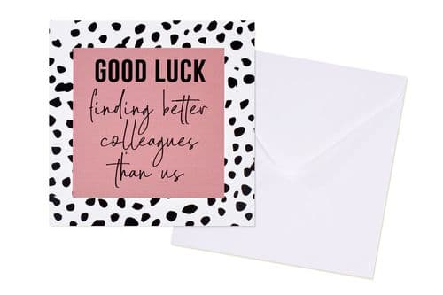 Langs - Good Luck Colleagues Card