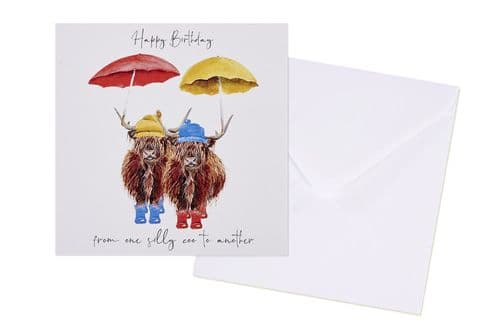 Langs - Happy Birthday Silly Coo - Card