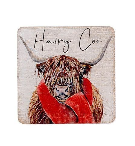 Langs - Highland Cow Magnet - Hairy Coo