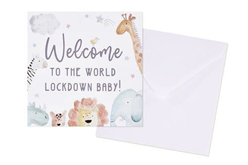 Langs - Lockdown Baby Card
